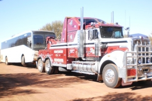 Port Hedland tow truck
