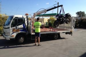 motorbike-hiab