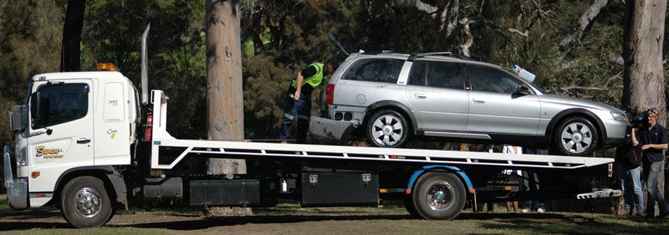 Car Getting Towed